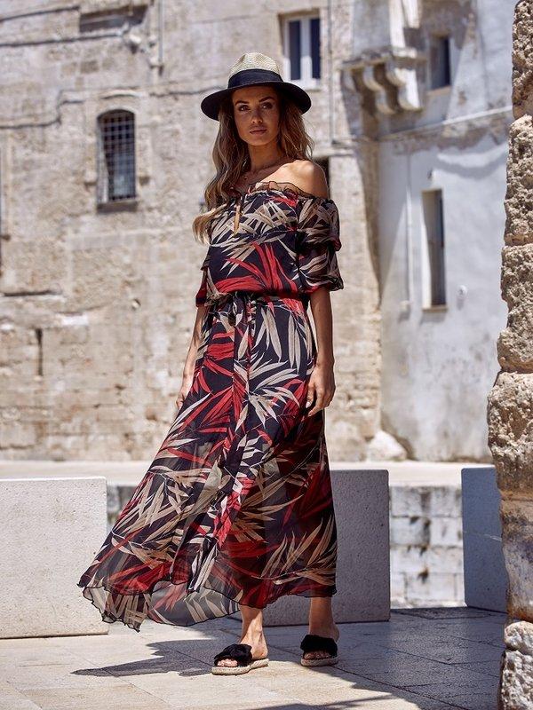 Sukienka Congo Czerwona