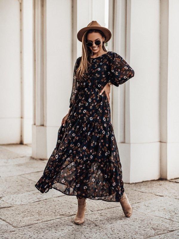 Sukienka Mementia Czarna