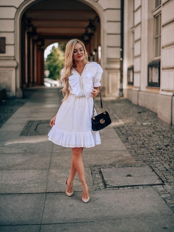 Sukienka Kayla Kremowa
