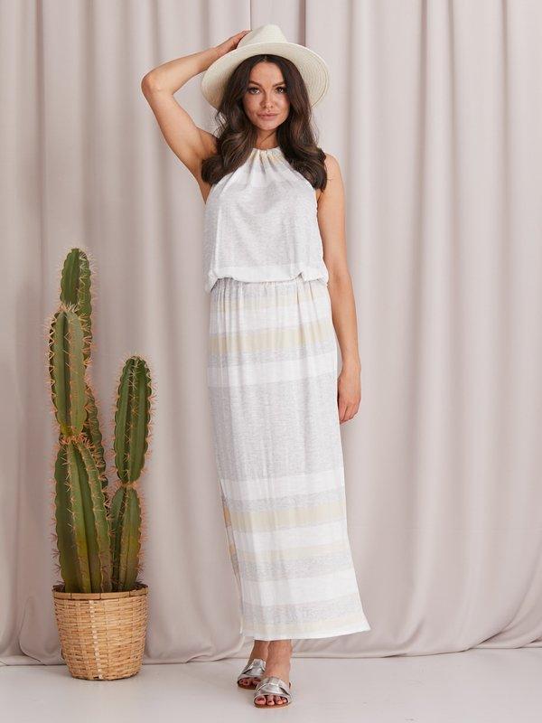 Sukienka Malaga Beżowa