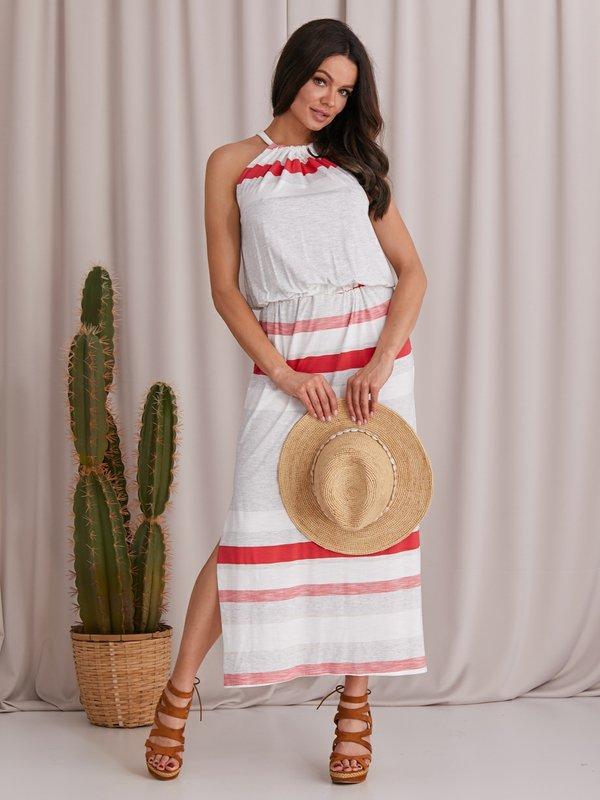 Sukienka Malaga Malinowa