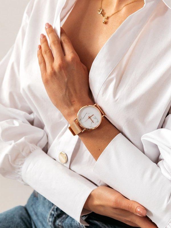 Zegarek Marmurkowy Rose Gold