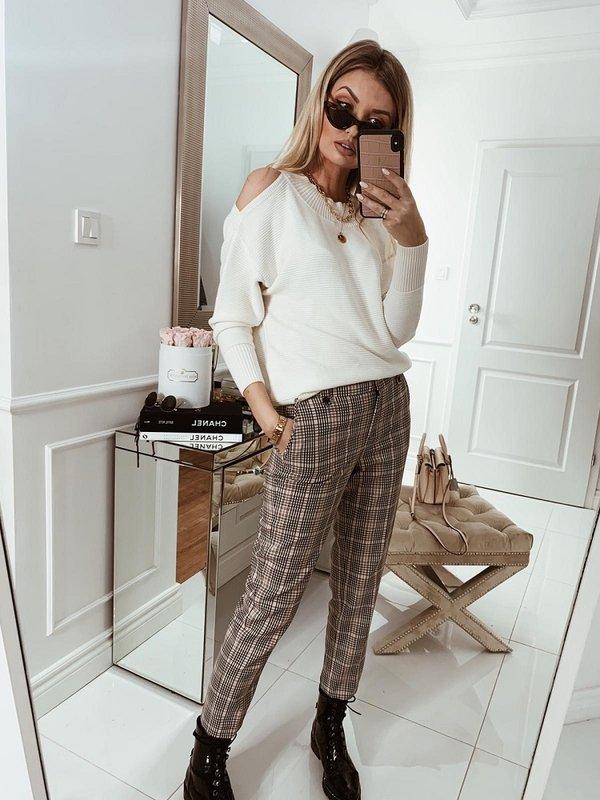 Spodnie Camaro Pudrowe