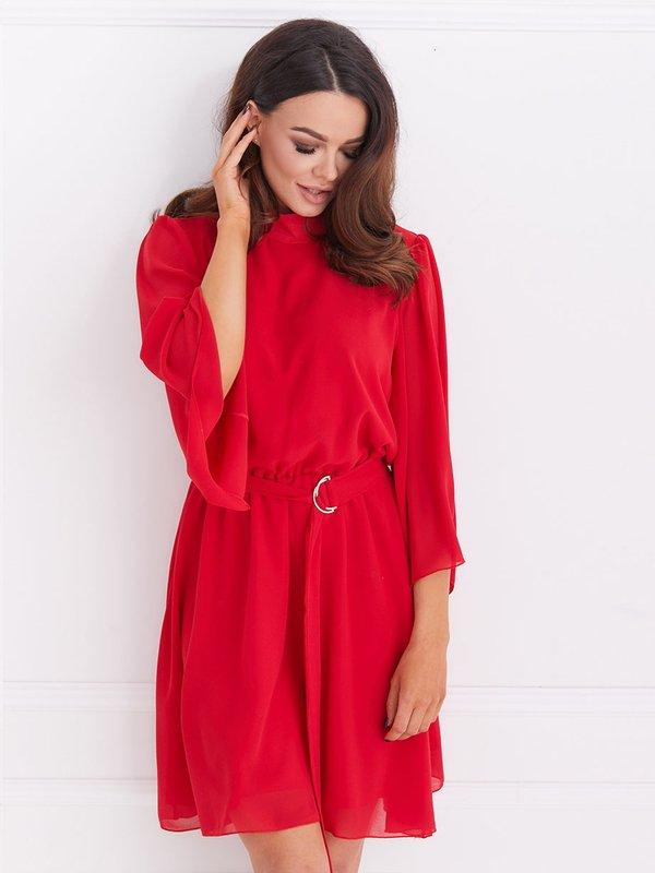 Sukienka Follow Czerwona