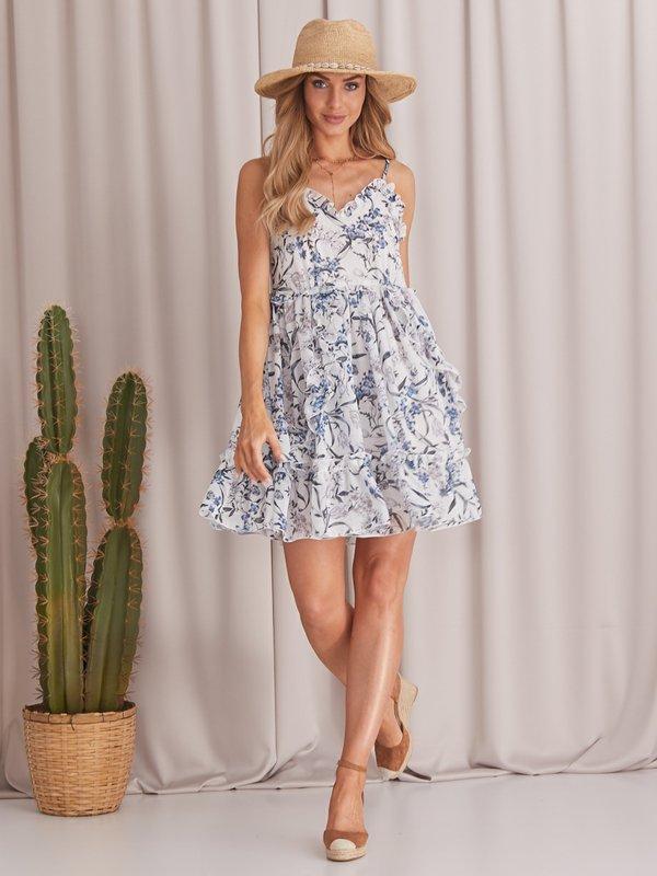 Sukienka Vanessa Biała