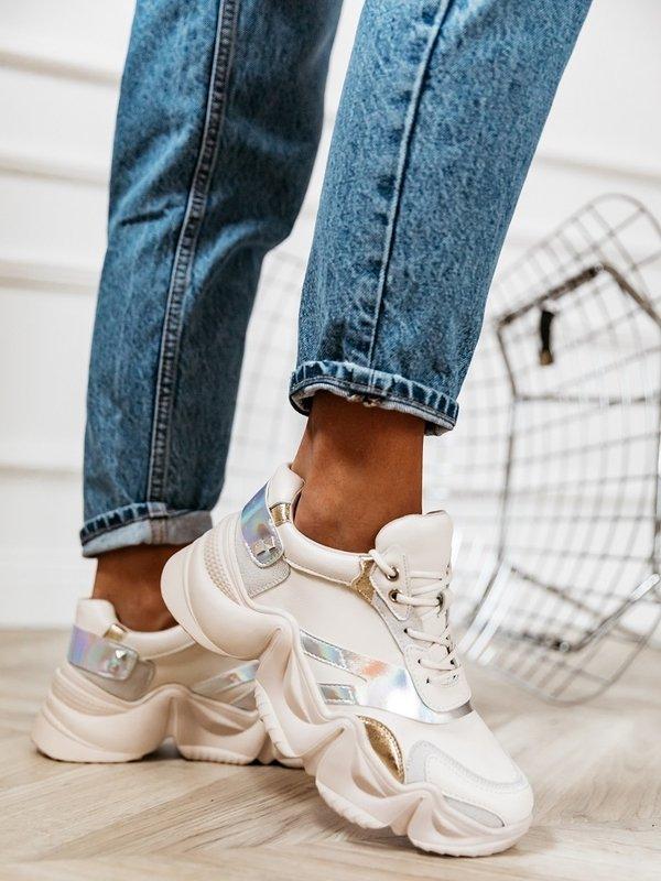 Adidasy Fluo Białe