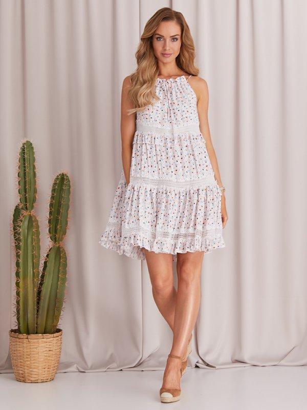 Sukienka Sunflower Błękitna