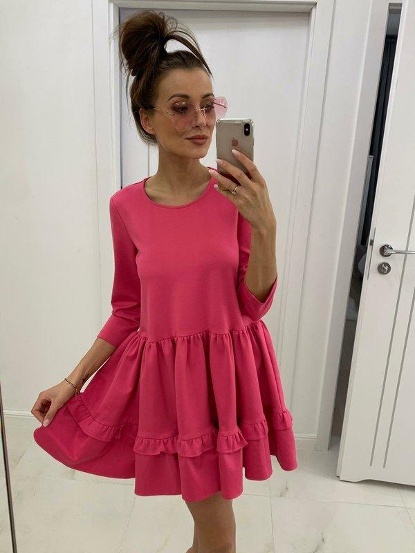 Sukienka Fabianne Amarantowa