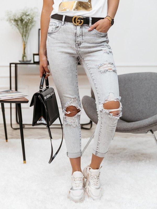 Spodnie Toxic Slim Jeans Szare