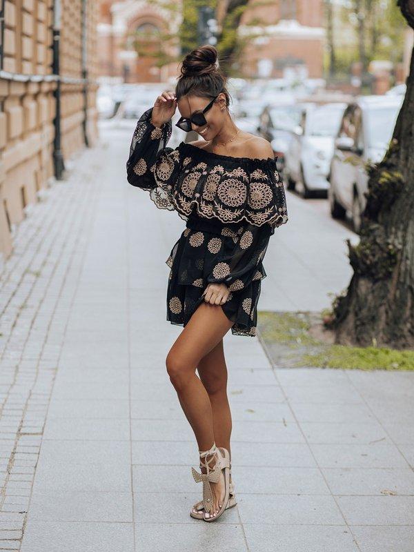 Spódnica Santos Czarna