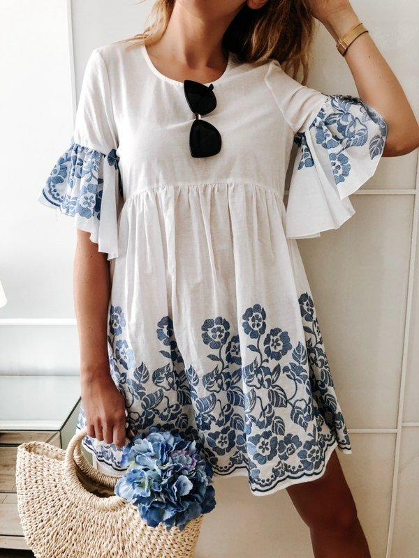 Sukienka Rana Biała