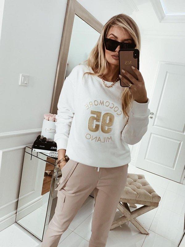 Bluza Coco Gold Biała