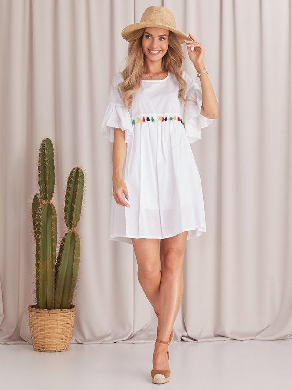 Sukienka Lule Biała