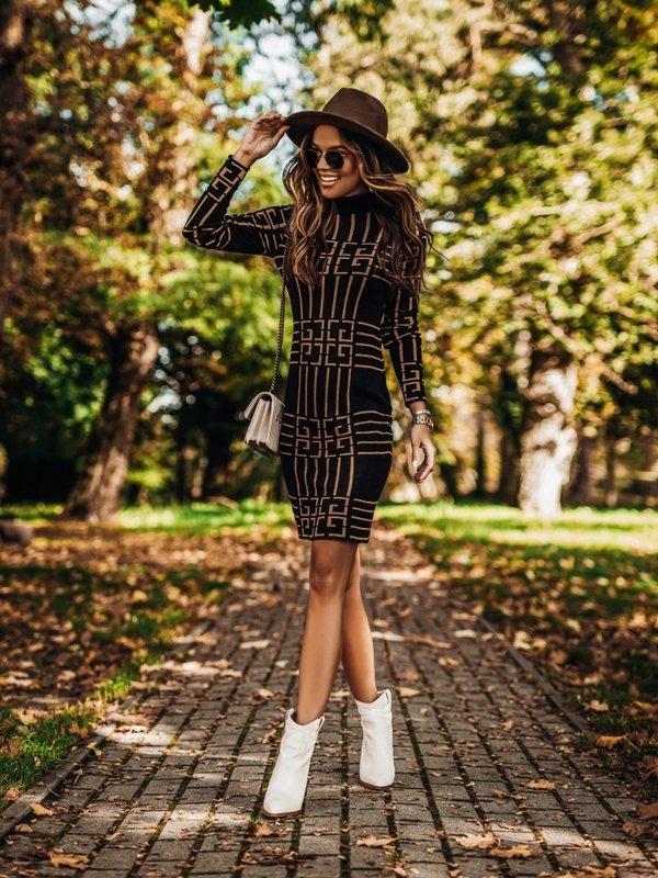 Sukienka Balaim Czarna