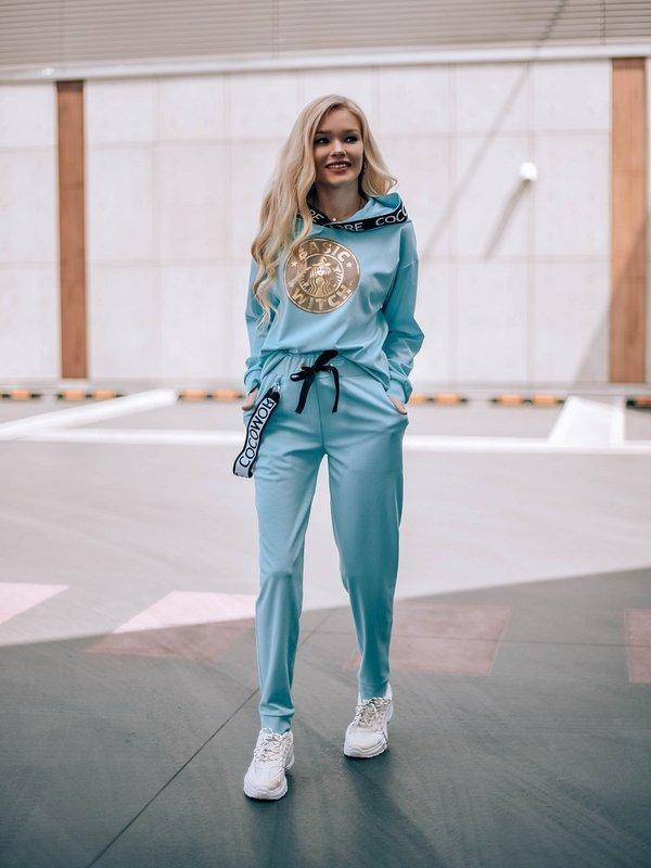 Spodnie Basic Witch Turkusowe