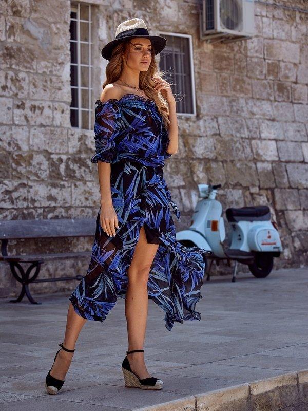 Sukienka Congo Niebieska