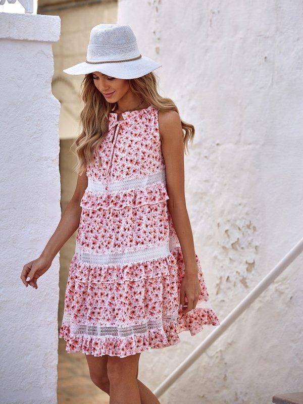 Sukienka Sunflower Różowa