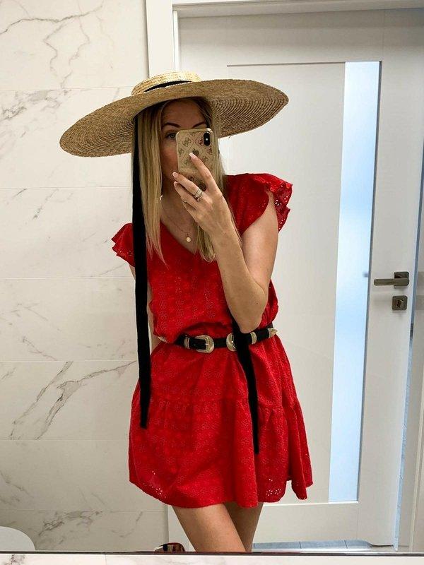Sukienka Avari Czerwona